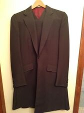 Ladies/youth Brown Pinstriped 3 piece Saddleseat suit by the Tailored Sportsman