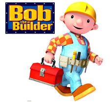 Bob The Builder Reusable Sticker Wall Laptop School Books Lunch Box Decor