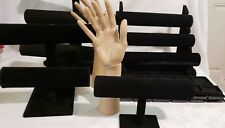 Bangle Bracelet Watch Jewelry T-Bar Hand Displays Stands Holder Racks Organizer
