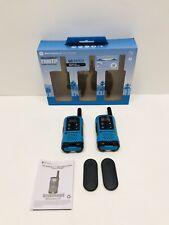 Motorola TalkAbout T100TP 2-Way 2 Pack 16 Mile Range Blue Radio