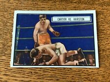 1951 Topps Ringside Boxing card #80 Cartier vs Hairston