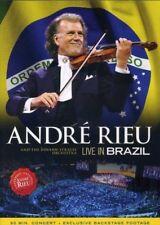 André Rieu Live in Brazil 0602537343621 DVD Region 2 P H