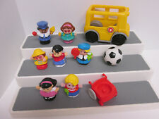 Fisher Price Little People Replacement School Bus Figures Accessories Lot