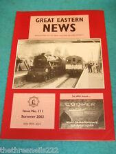 GREAT EASTERN NEWS #111 - SUMMER 2002 - BISHOPSGATE