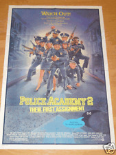 P0LICE ACADEMY 2 1985 ORIGINAL MOVIE POSTER