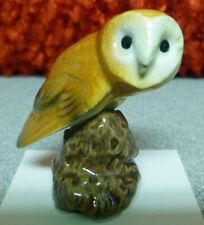 ➸ HAGEN RENAKER Bird Miniature Figurine Barn Owl