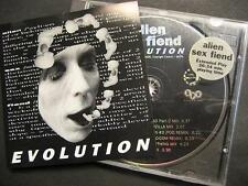 "ALIEN SEX FIEND ""EVOLUTION"" - CD"