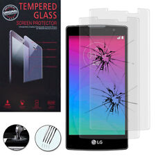 2X Safety Glass for Lg Spirit 0.1oz Lte H440N/H420 Genuine Screen Protector