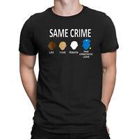 Colin Kaepernick Same Crime Men T Shirt