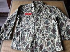 Post Vietnam War ROKMC Marine Corps Korea Duck Hunter Camouflage HBT Shirt #1