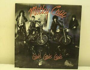 MOTLEY CRUE Girls, Girls, Girls 1987 Vinyl  LP Elektra E1 60725 -R49