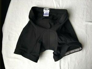 Pearl Izumi Women's Cycling Shorts Size S Padded Black White Logo