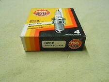4 NGK Spark Plugs B6EB Stock No 7434 - Pack Of 4 Plugs