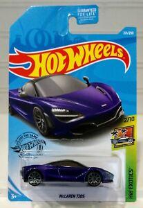 Hot Wheels McLaren 720S  #221 HW Ecotics #2 of #10 Purple diecast car