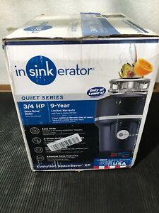 InSinkErator Evolution SpaceSaver XP Quiet Series 3/4-HP Garbage Disposal