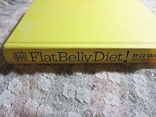 2008 HC Flat Belly Diet by Liz Vaccariello, Sass, Program & Cookbook Recipes
