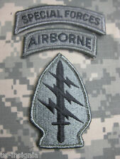 U.S. ARMY AUFNÄHER PATCH SPECIAL FORCES GROUP ACU MIT KLETT UCP