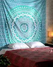 Ombre Hippie Tapestries Indian Mandala Large Wall Hanging Gypsy Throw Tapestry9