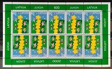 Latvia Miniature Sheet - Europa 2000 -  MNH.
