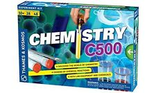 Chemistry Workshop Build Kit Set With Lab Equipment And Chemicals Kids Game Play