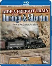 Ride a Freight Train on the Durango & Silverton BLU-RAY NEW Railway Productions
