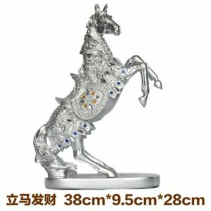 Retro Lucky Horse Ornaments Creative Office Furnishings Gift Wine Cabinet Statue