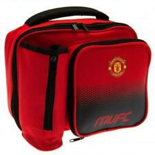 Manchester United FC Lunch Bag With Bottle Holder - Back To School Birthday Gift