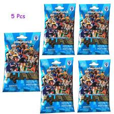 5 Pcs PLAYMOBIL® Figures Mystery Blind Bags Series 9 Boys 5598 (Blue Bag) New