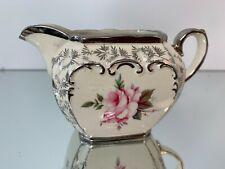 Sadler & Sons Victorian Style Porcelain Milk Jug / Creamer, Pattern 1937, c1947+