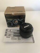 Nikon AF Nikkor 50mm 1.8 D AF Prime Lens