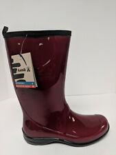 Kamik Heidi Waterproof Rain Boots, Red, Womens 9 M