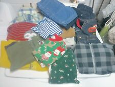 Huge lot 18 months toddler boys clothes pants jackets overalls shorts pajamas A+
