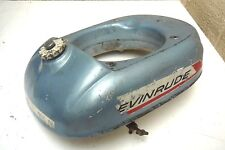 EVINRUDE 3hp LIGHTWIN OUTBOARD ENGINE FUEL TANK with TAP - 1967