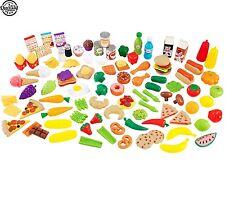 115 Pieces Lot Tasty Treats Pretend Play Food Plastic Set for KidKraft Kitchen