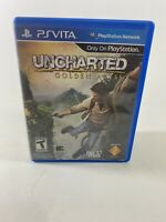 Uncharted Golden Abyss PlayStation Vita  Ps Vita Tested Cart Case