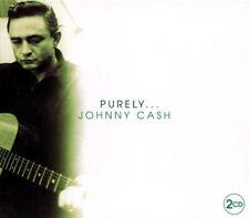 JOHNNY CASH PURELY NEW 2 CD COUNTRY + WESTERN. ORIGINAL ARTIST, SOME LIVE TRACKS