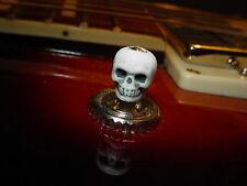 WHITE Skull toggle switch tip knob for Gibson ES 335 Epi Flying V Les Paul SG