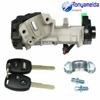 New Ignition Keys Switch Lock Cylinder Steering For 06-11 Honda Civic Auto Trans