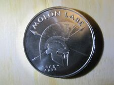 Molon Labe AR15 M4 M16 1 oz .999 Silver Second 2nd Amendment Come and Take It