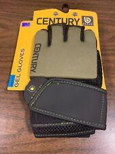 Century Mens Size S/M Green Gel Gloves