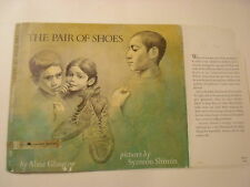 The Pair of Shoes, Aline Glasgow, Symeon Shimin, Dust Jacket Only