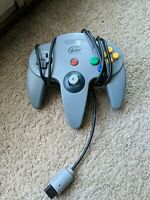 Nintendo 64 N64 grey Controller Tested & Working NICE