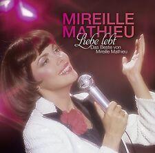 Mireille MATHIEU-amour vit: le meilleur de Mireille Mathieu 2 CD NEUF