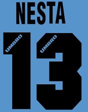 Lazio Nesta local Camiseta De Fútbol Número Letra H 96 maglia Umbro de fútbol de calor