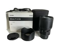 SIGMA Art 85mm F/1.4 DG HSM (for SONY E mount) with cover
