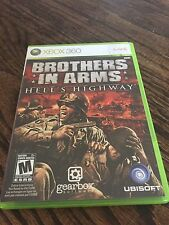 Brothers In Arms Hells Highway Xbox 360 Cib Game Works XG1
