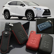 For Lexus NX 2015 Remote Key Case 3 Button Cover Holder  High Quality leather