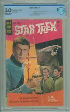 Star Trek # 1 CBCS 3.0 GD/VG Gold Key 1967 Photo Cover William Shatner Pin-Up