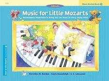 Music for Little Mozarts Recital Book, Bk 3: Performance Repertoire to Bring Out