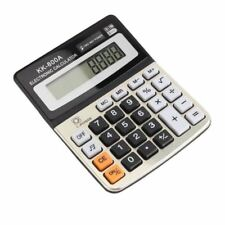 New 8 Digit Desk Calculator Jumbo Large Buttons Solar Desktop Battery Kk-800A
